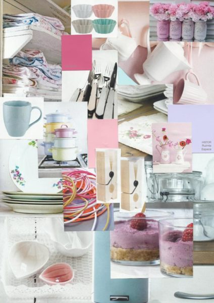 Keuken vol romantiek