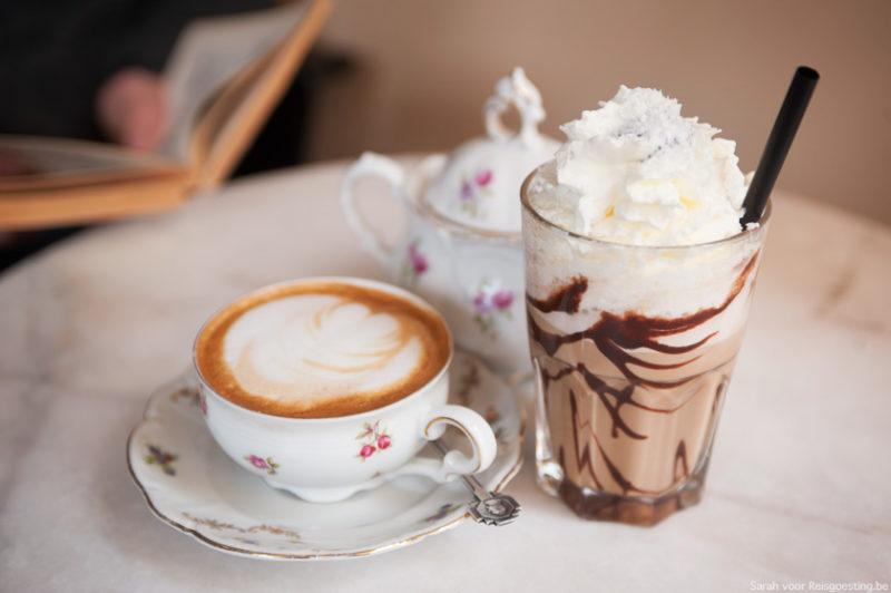 Samen koffie drinken