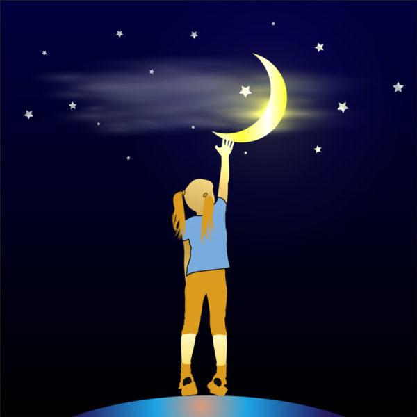 Tot aan de maan en terug